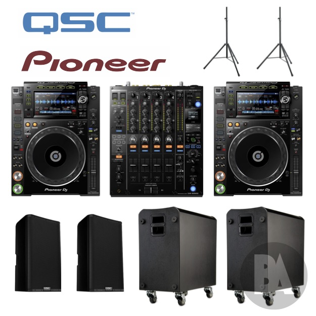 Pioneer QSC hire package nxs2