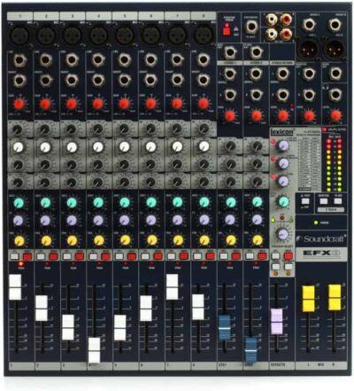 Soundcraf EFX8 top