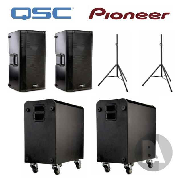 QSC K12.2's and K-sub's hire