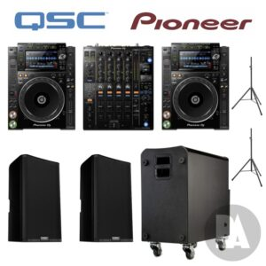 Pioneer QSC hire package nxs2